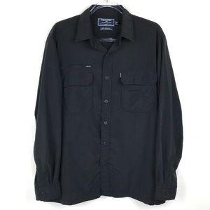 Men's Ralph Lauren Polo Sport Black Shirt Medium